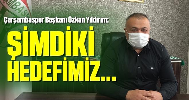Çarşambaspor Başkanı Özkan Yıldırım: Şampiyonluğun Mutluluğunu Yaşıyoruz