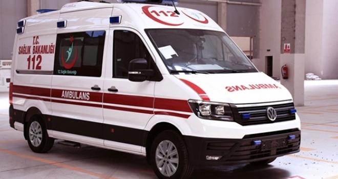 İstanbul'dan Bafra'ya ambulans hibe edildi
