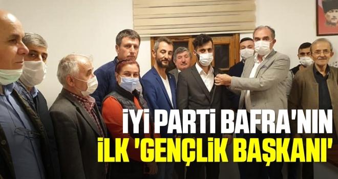 İYİ Parti Bafra'nın ilk 'gençlik başkanı'