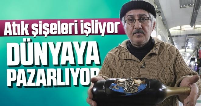 Samsun'da Atık Şişeleri İşliyor Dünyaya Pazarlıyor