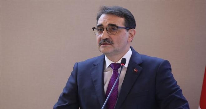 Enerji ve Tabii Kaynaklar Bakanı Dönmez: Bor katkılı el dezenfektanının seri üretimine başlıyoruz