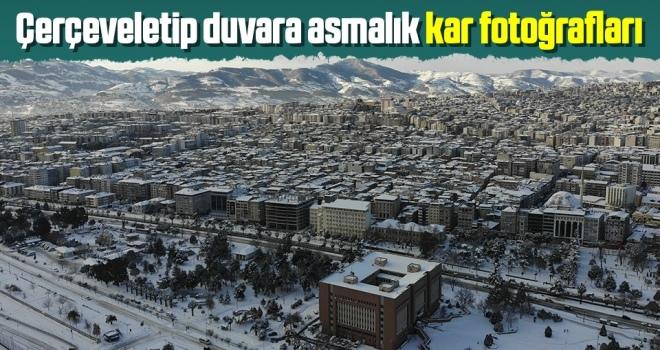 Samsun'da Kar Doyumsuz Görüntülere Sahne Oldu