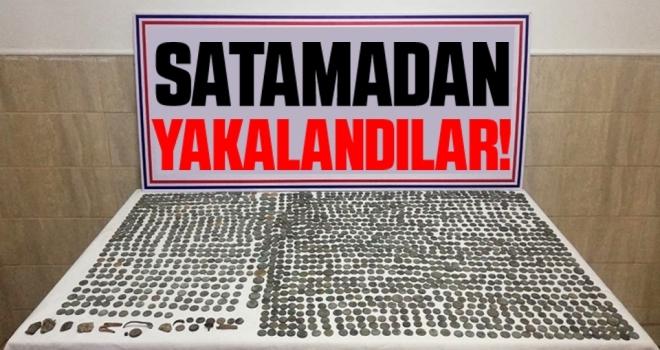 Samsun'da 'Amisos Hazinelerini' Satamadan Yakalandılar