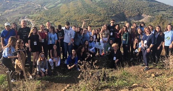 Avrupalı öğrenciler SAL'ın misafiri oldu