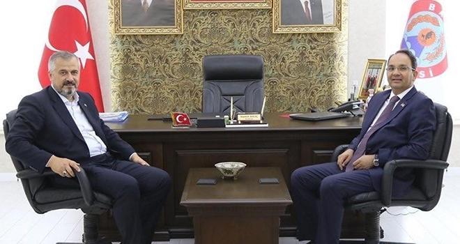 Kaymakam Ertürkmen'den Başkan Kılıç'a İade-i Ziyaret