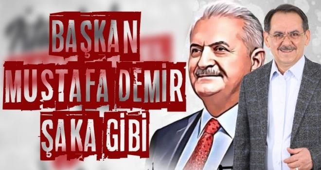 Samsun'un Başkanı Mustafa Demir, Yine Yaparız Dedi