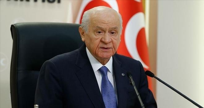 MHP Genel Başkanı Bahçeli: PKK'yı telaffuzdan imtina edenler, ihanetin vitrin süsleridir