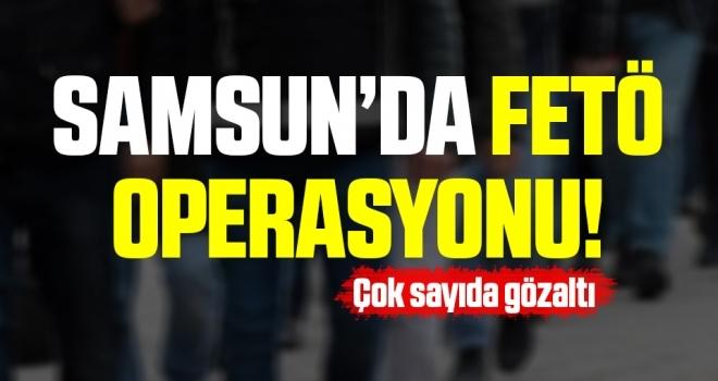 Samsun merkezli FETÖ'nün mahrem asker yapılanmasına operasyon: 7 gözaltı