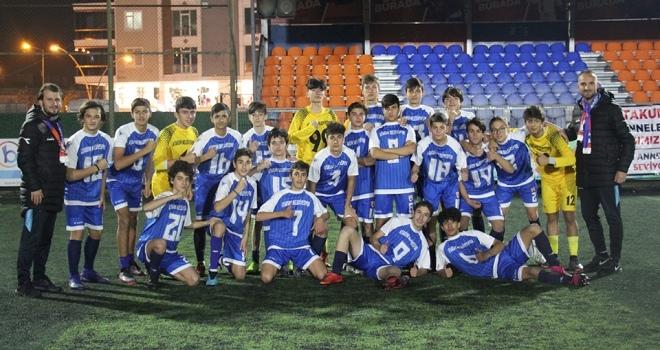 U15'te Şampiyon Atakum Belediyespor