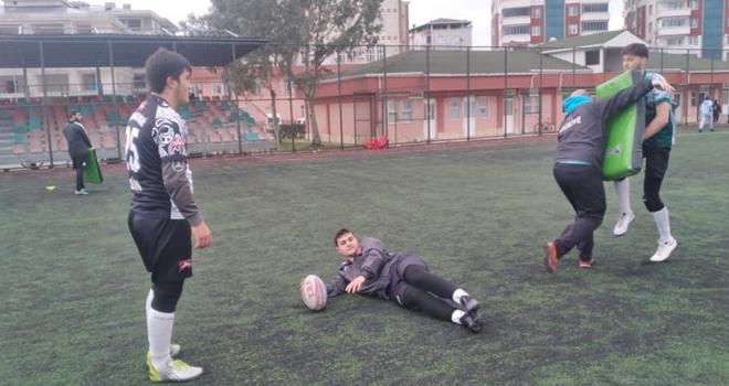 Çarşamba Ragbi Takımı Sahaya İndi