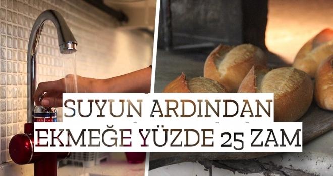 Samsun'da Suyun Ardından Ekmeğe Yüzde 25 Zam