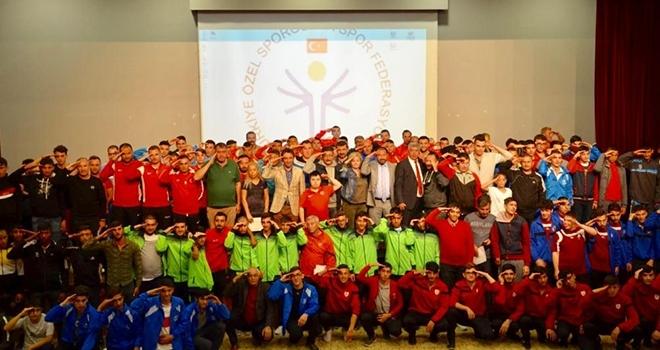 Özel Sporcular Futbol Şampiyonası başladı