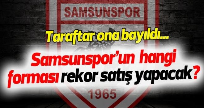 Samsunspor'un siyah forması taraftarı hayran bıraktı