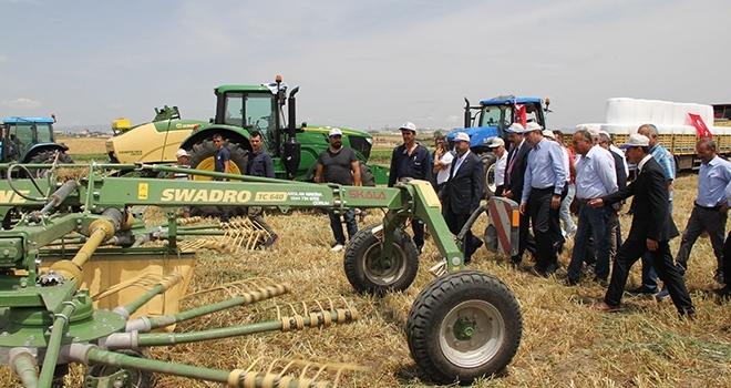 Çorum'da çiftçilere 770 bin liralık araç ve ekipman desteği