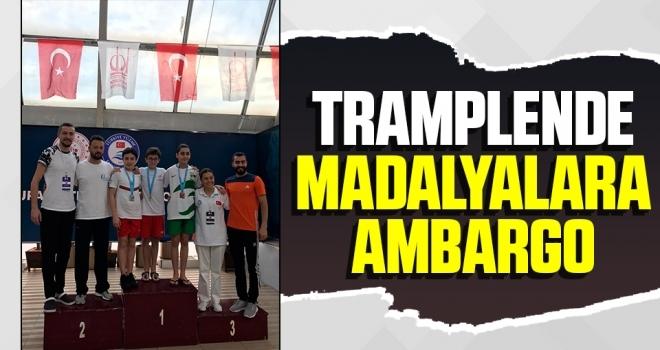 Tramplende Samsunlu Sporcuların Madalyalarına Ambargo