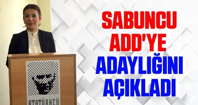 Arzu Sabuncu ADD'yeAdaylığını Açıkladı