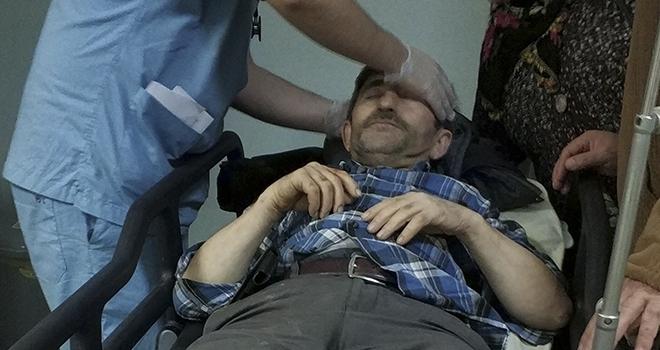 Samsun'da Çatıdan Düşen Şahıs Ölümden Döndü