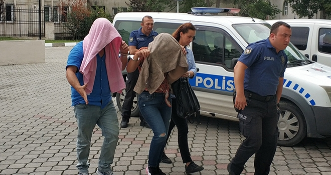 Samsun'da Mağazadan gözlük çalan 2 şahıs gözaltında