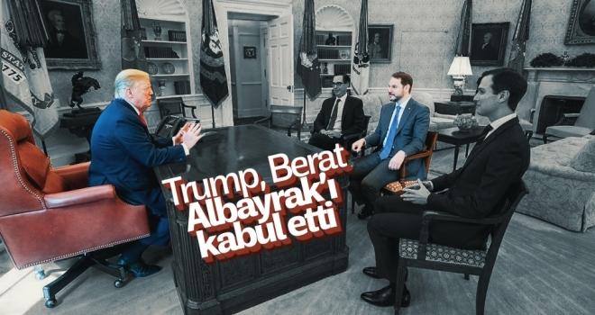 Trump, Berat Albayrak'ı kabul etti