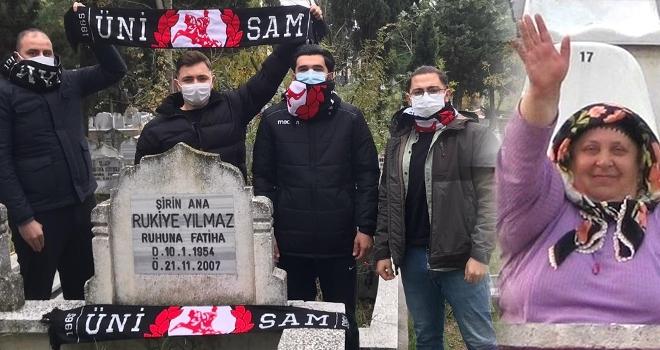 Samsunspor'un Şirin Anası unutulmadı