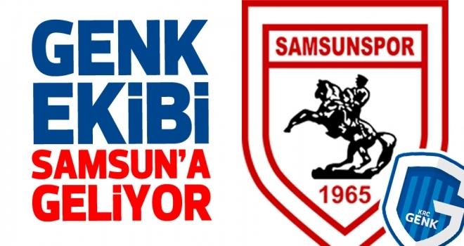 Samsunspor Haberleri   Genk ekibi bu gece Samsun'a geliyor