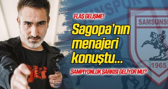 Samsunspor taraftarının çağrısı üzerine Sagopa Kajmer'in menajerinden açıklama geldi...