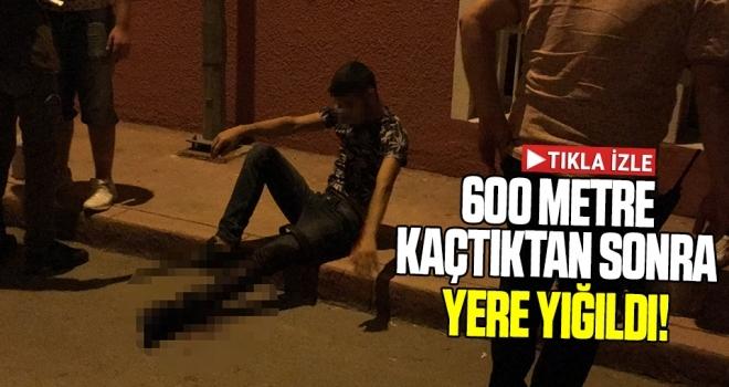 Samsun'da Bıçaklanan Genç 600 Metre Kaçtıktan Sonra Yere Yığıldı!