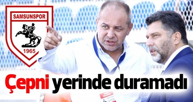 Samsunspor Haberleri | Aykut Çepni yerinde duramadı