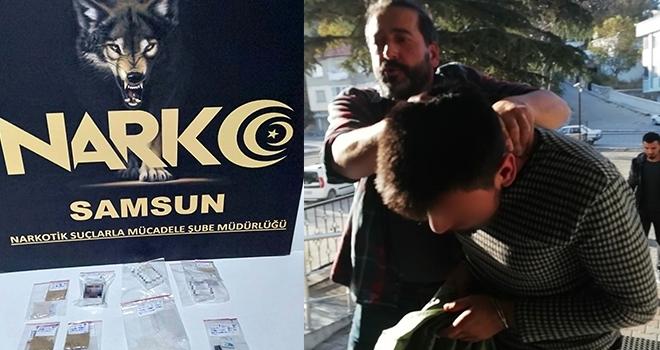 İstanbul'dan getirdiğieroinle yakalandı