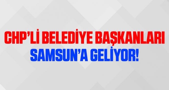 CHP'li başkanlarAtakum'a geliyor