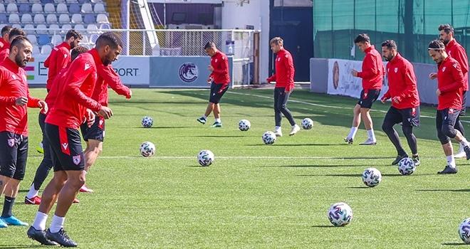 Samsunspor, Keçiörengücü maçı hazırlıklarını tamamladı