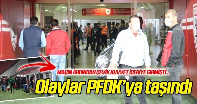 Keçiören maçının ardından yaşanan olaylar PFDK'ya taşındı