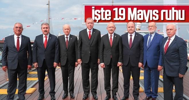ATATÜRK'ÜN İZİNDE  19 MAYIS RUHU