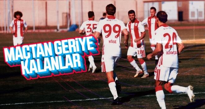 Tarsus İdman Yurdu - Yılport Samsunspor maçından geriye kalanlar