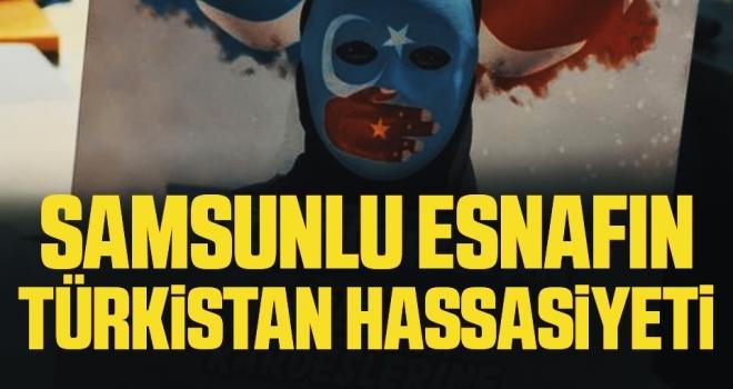 Samsunlu esnafınTürkistan hassasiyeti