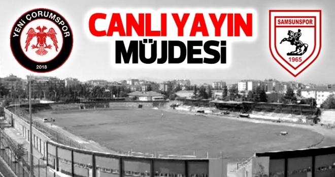 Samsunspor'dan canlı yayın müjdesi