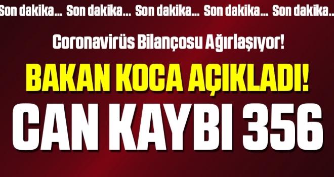 Türkiye'de son 24 saatte koronavirüsten 79 kişi daha hayatını kaybetti