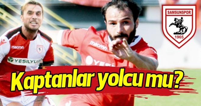 Samsunspor'da kaptanlar yolcu