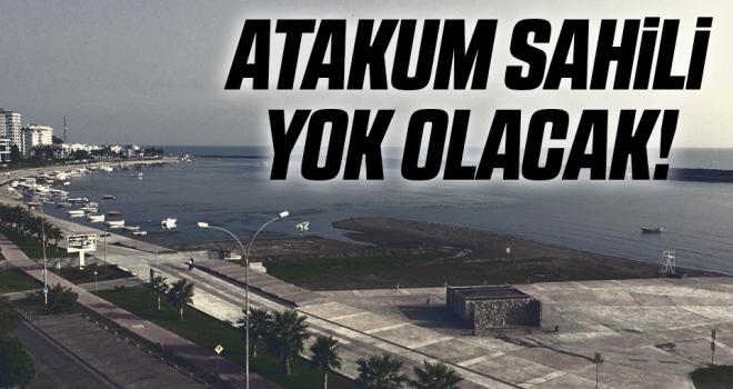 Atakum Sahili Yok Olacak!