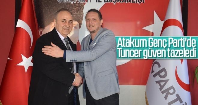 Atakum Genç Parti'de Tuncer güven tazeledi