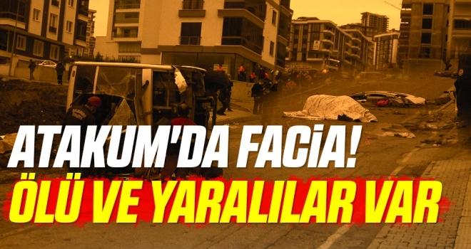 Atakum'da Facia! İşçi Servisi Devrildi Ölü Ve Yaralılar Var