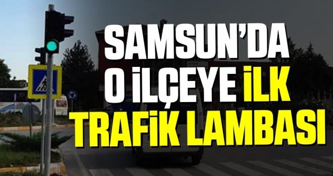 Salıpazarı'nın ilk 'trafik lambası'