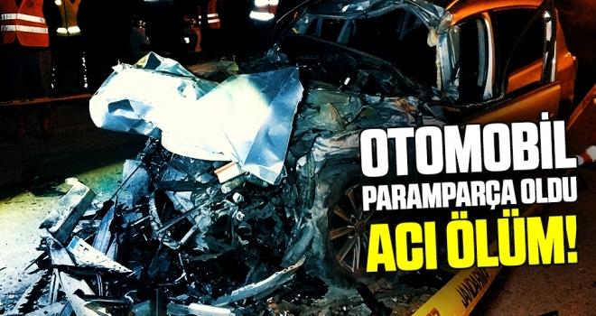 Samsun'da Otomobil park halindeki tırın altına girdi: 1 ölü