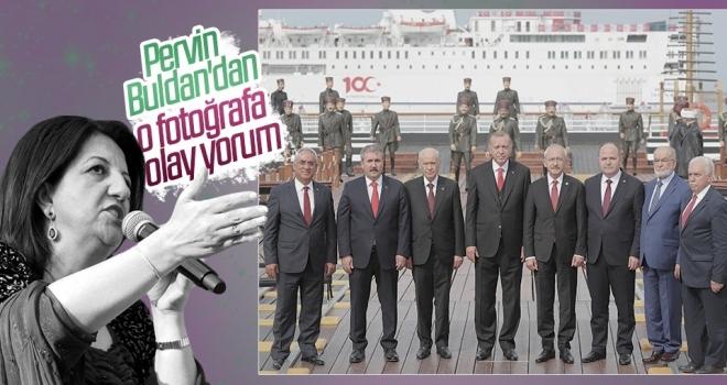 Pervin Buldan'dan liderlerin Samsun'daki birlik fotoğrafına olay yorum