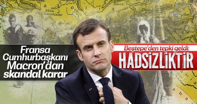 Fransa'nın Skandal Kararına Beştepe'den Tepki: Hadsizlik Örneğidir