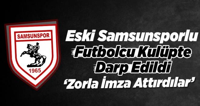 Eski Samsunsporlu Futbolcu Halil İbrahim'e  Saldırı İddiası!
