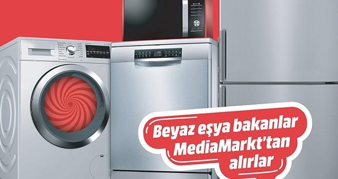 Beyaz eşyada yüzde 20 indirim MediaMarkt'ta