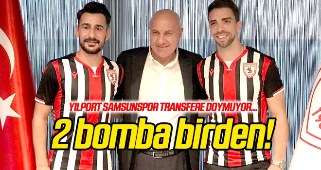 Yılport Samsunspor transfere doymuyor! Tomane ve Buğra imzaladı...