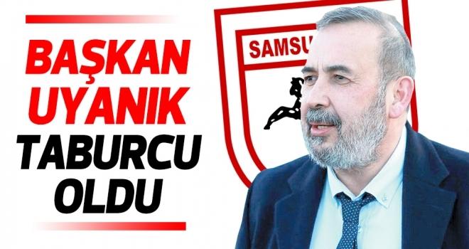 Samsunspor Başkanı İsmail Uyanık taburcu oldu