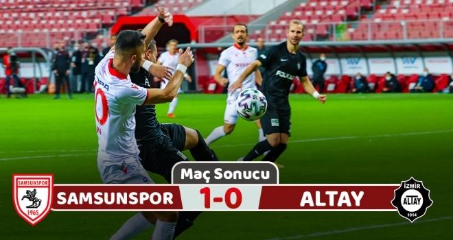 Samsunspor: 1 Altay: 0 (Maç Sonucu)